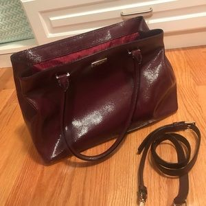 Kate Spade Burgundy Bag with straps